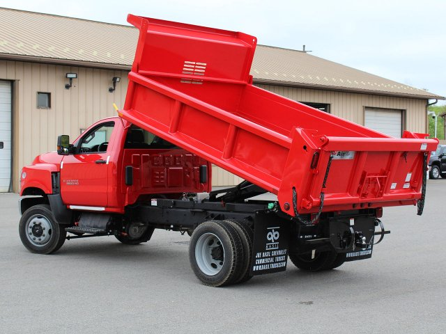 2019 Silverado Medium Duty Regular Cab 4x4,  Air-Flo Dump Body #19C208T - photo 17
