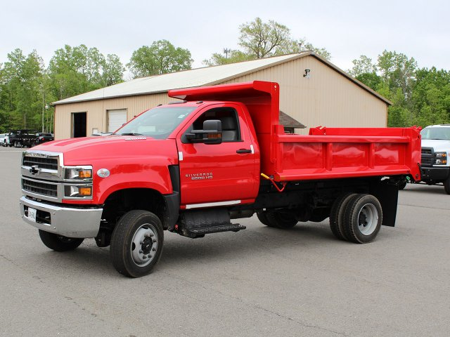 2019 Silverado Medium Duty Regular Cab 4x4,  Air-Flo Dump Body #19C208T - photo 3