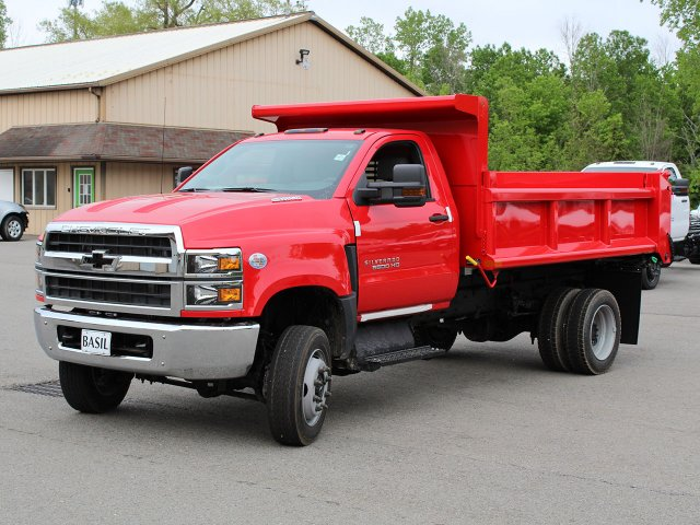 2019 Silverado Medium Duty Regular Cab 4x4,  Air-Flo Dump Body #19C208T - photo 5
