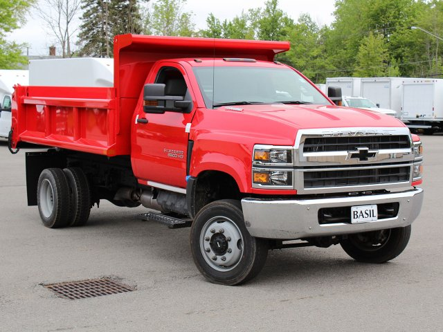 2019 Silverado Medium Duty Regular Cab 4x4,  Air-Flo Dump Body #19C208T - photo 7