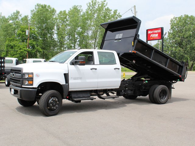 2019 Silverado Medium Duty DRW 4x4,  Air-Flo Pro-Class Dump Body #19C217T - photo 12