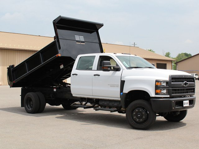 2019 Silverado Medium Duty DRW 4x4,  Air-Flo Pro-Class Dump Body #19C217T - photo 13