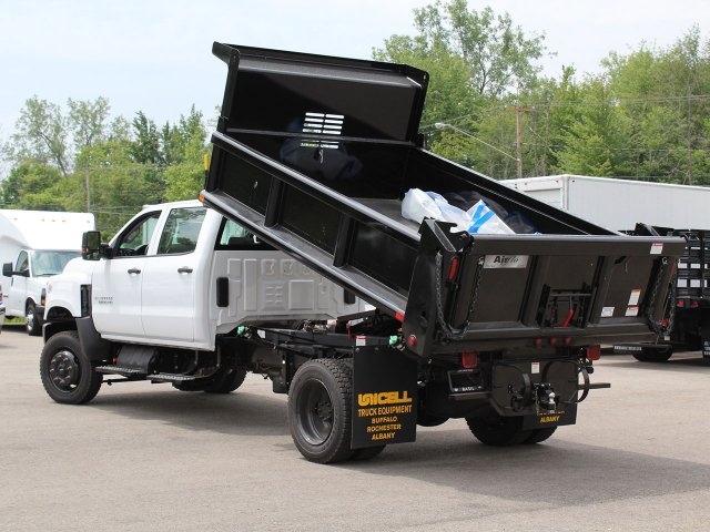 2019 Silverado Medium Duty DRW 4x4,  Air-Flo Pro-Class Dump Body #19C217T - photo 15