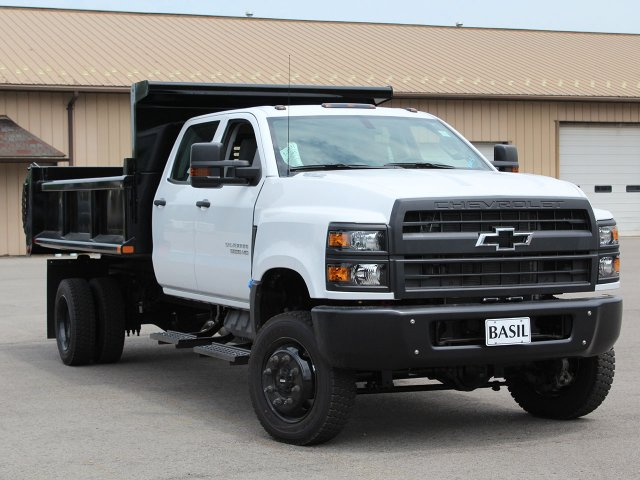 2019 Silverado Medium Duty DRW 4x4,  Cab Chassis #19C217T - photo 2