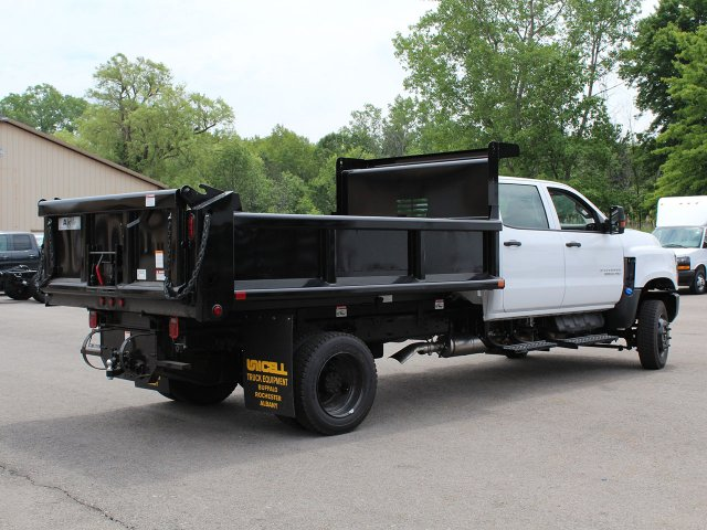 2019 Silverado Medium Duty DRW 4x4,  Air-Flo Pro-Class Dump Body #19C217T - photo 9