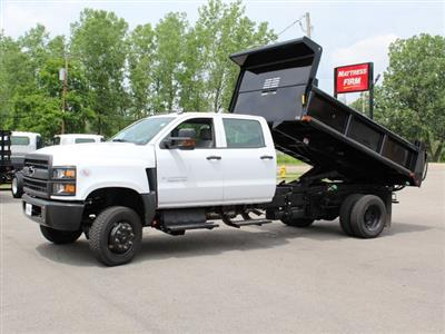 2019 Silverado Medium Duty DRW 4x4,  Cab Chassis #19C217T - photo 12
