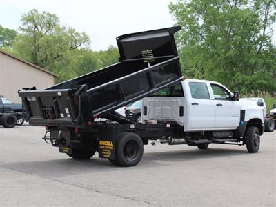 2019 Silverado Medium Duty DRW 4x4,  Air-Flo Pro-Class Dump Body #19C217T - photo 14