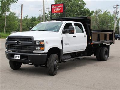 2019 Silverado Medium Duty DRW 4x4,  Air-Flo Pro-Class Dump Body #19C217T - photo 4