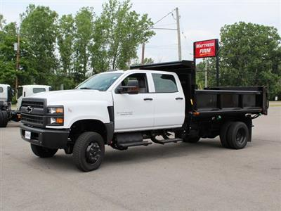 2019 Silverado Medium Duty DRW 4x4,  Air-Flo Pro-Class Dump Body #19C217T - photo 6