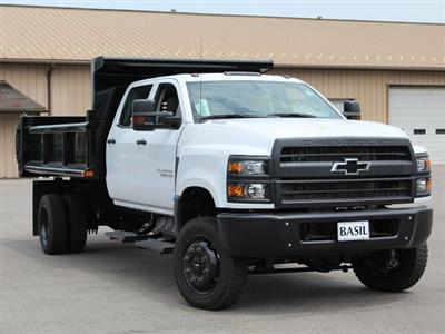 2019 Silverado Medium Duty DRW 4x4,  Air-Flo Pro-Class Dump Body #19C217T - photo 3