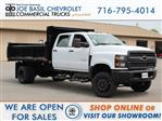 2019 Silverado Medium Duty Crew Cab DRW 4x4, Air-Flo Dump Body #19C217T - photo 1