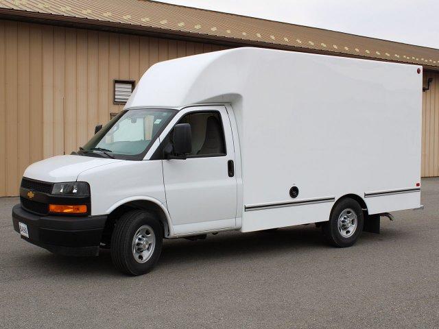 2019 Express 3500 4x2,  Unicell Aerocell CW Cutaway Van #19C220T - photo 3