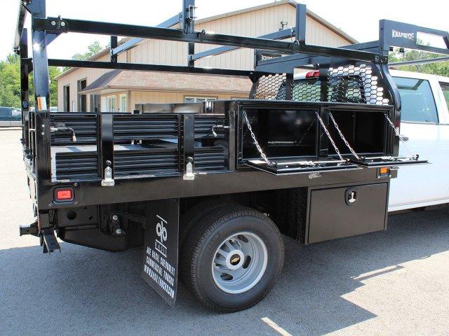 2019 Silverado 3500 Crew Cab DRW 4x4,  Knapheide Contractor Body #19C224T - photo 34