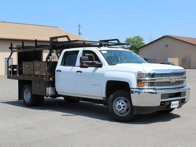 2019 Silverado 3500 Crew Cab DRW 4x4,  Knapheide Contractor Body #19C224T - photo 8