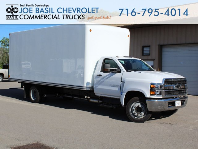 2019 Silverado Medium Duty Regular Cab DRW 4x2,  Unicell Dry Freight #19C226T - photo 1