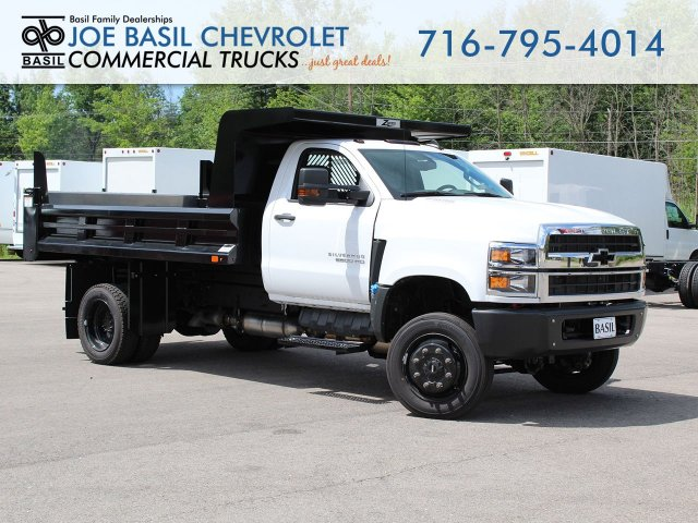 2019 Silverado Medium Duty Regular Cab DRW 4x4, Rugby Dump Body #19C232T - photo 1