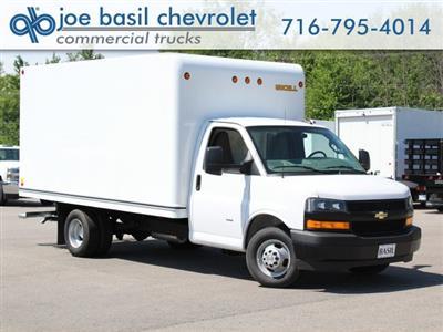 2019 Express 3500 4x2,  Unicell Classicube Cutaway Van #19C235T - photo 1