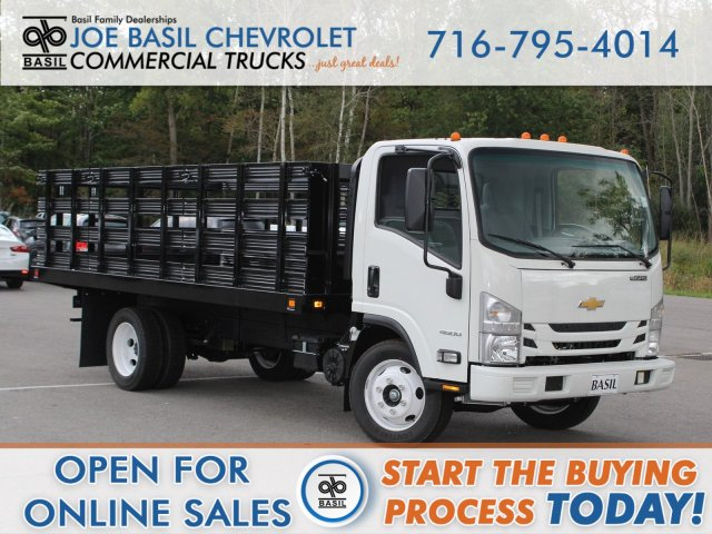 2019 LCF 4500 Regular Cab 4x2,  Knapheide Stake Bed #19C239T - photo 1