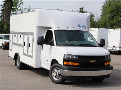 2019 Express 3500 4x2,  Bay Bridge Tool Pro Service Utility Van #19C241T - photo 7
