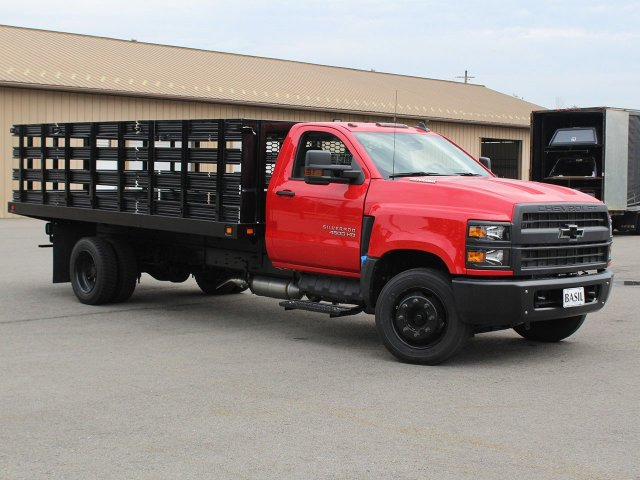2019 Silverado Medium Duty DRW 4x2,  Knapheide Stake Bed #19C245T - photo 25
