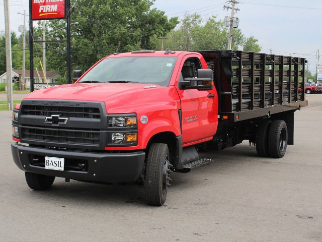 2019 Silverado Medium Duty DRW 4x2,  Knapheide Stake Bed #19C245T - photo 5