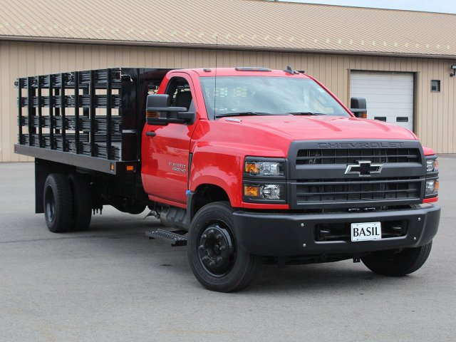2019 Silverado Medium Duty DRW 4x2,  Knapheide Stake Bed #19C245T - photo 8