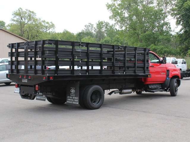 2019 Silverado Medium Duty DRW 4x2,  Knapheide Stake Bed #19C245T - photo 10