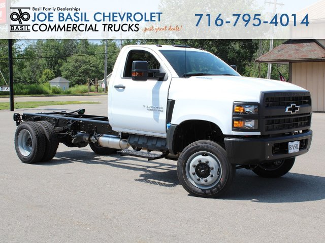 2019 Silverado Medium Duty Regular Cab 4x4,  Cab Chassis #19C262T - photo 1