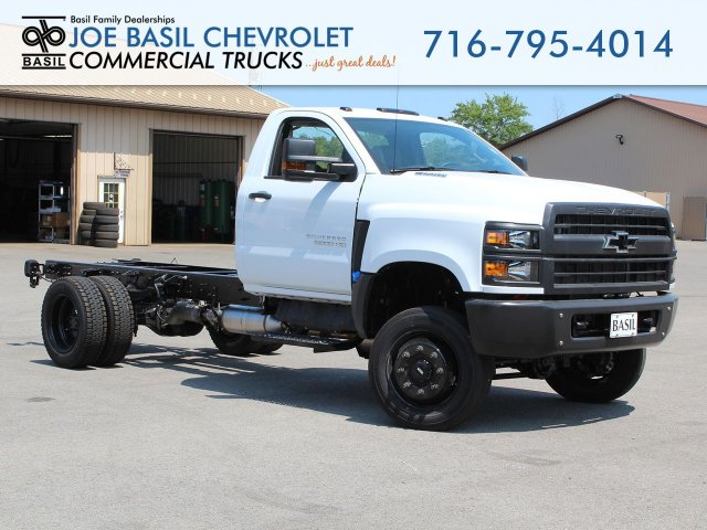 2019 Silverado Medium Duty Regular Cab 4x4,  Cab Chassis #19C263T - photo 1
