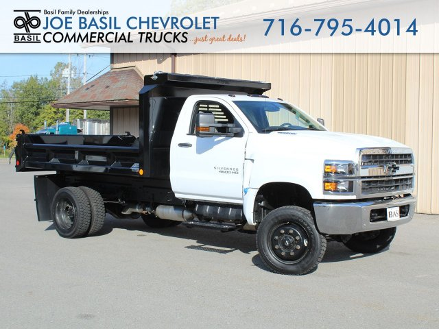 2019 Silverado Medium Duty Regular Cab DRW 4x4, Crysteel Dump Body #19C265T - photo 1