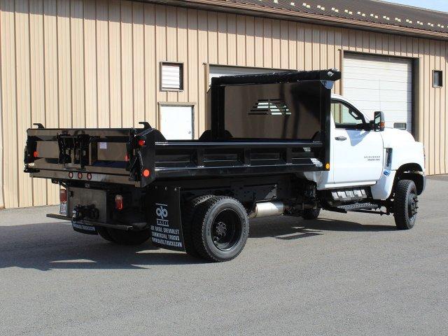 2019 Silverado Medium Duty Regular Cab DRW 4x4,  Crysteel Dump Body #19C265T - photo 1