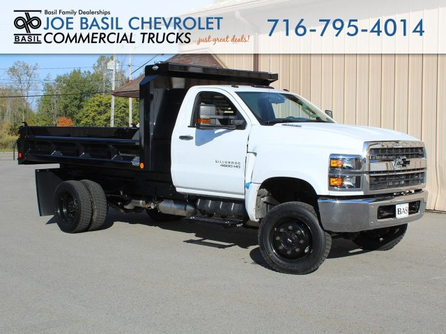 2019 Silverado Medium Duty Regular Cab DRW 4x4, Crysteel Dump Body #19C269T - photo 1