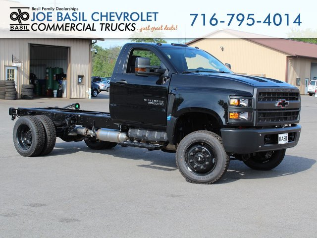 2019 Silverado Medium Duty Regular Cab 4x4,  Cab Chassis #19C271T - photo 1