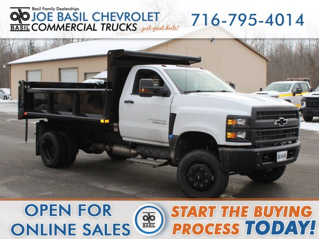 2019 Silverado Medium Duty Regular Cab DRW 4x4, Cab Chassis #19C273T - photo 1