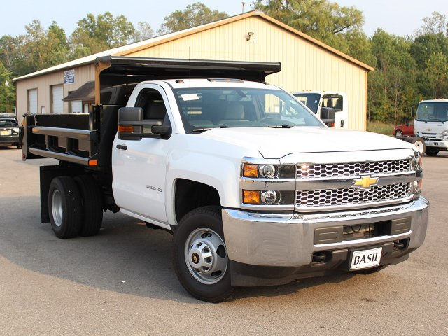 2019 Silverado 3500 Regular Cab DRW 4x4,  Air-Flo Dump Body #19C27T - photo 10