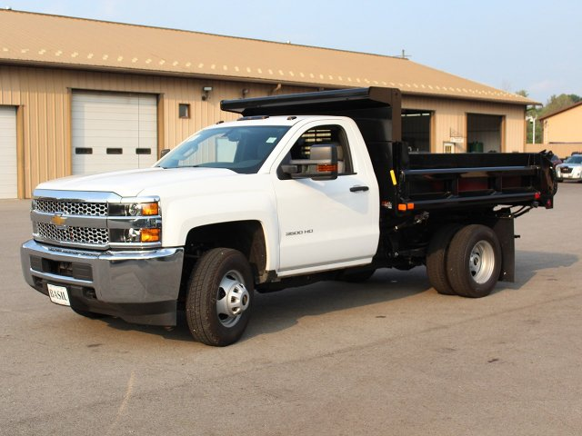 2019 Silverado 3500 Regular Cab DRW 4x4,  Air-Flo Dump Body #19C27T - photo 3