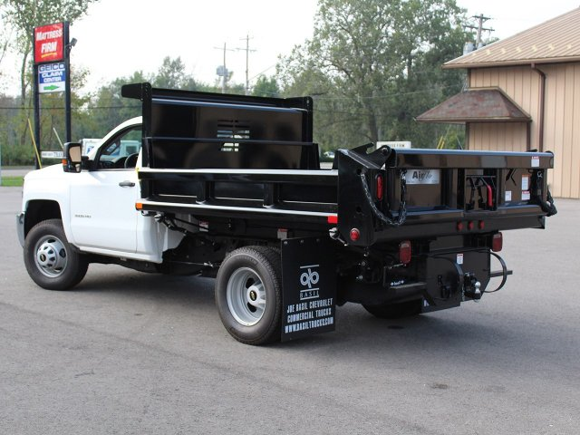 2019 Silverado 3500 Regular Cab DRW 4x4,  Air-Flo Dump Body #19C27T - photo 8