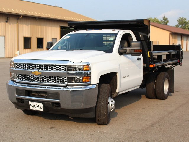2019 Silverado 3500 Regular Cab DRW 4x4,  Air-Flo Dump Body #19C27T - photo 9