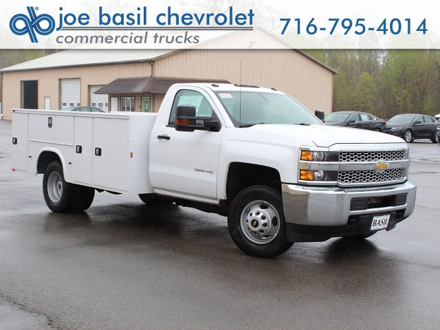 2019 Silverado 3500 Regular Cab DRW 4x4,  Knapheide Service Body #19C30T - photo 1