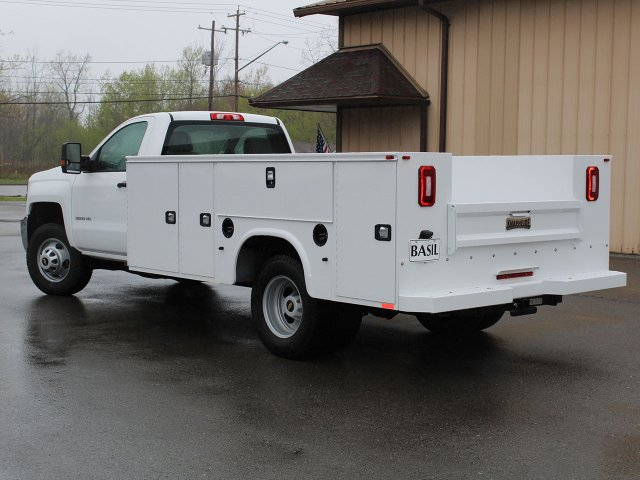 2019 Silverado 3500 Regular Cab DRW 4x4,  Cab Chassis #19C30T - photo 11