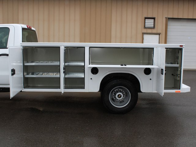 2019 Silverado 3500 Regular Cab DRW 4x4,  Knapheide Service Body #19C30T - photo 14