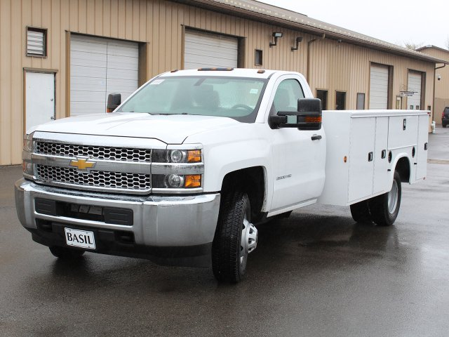 2019 Silverado 3500 Regular Cab DRW 4x4,  Knapheide Standard Service Body #19C30T - photo 5