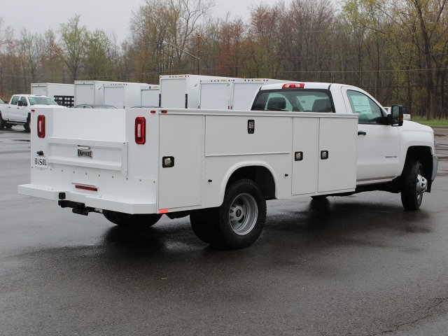 2019 Silverado 3500 Regular Cab DRW 4x4,  Cab Chassis #19C30T - photo 9