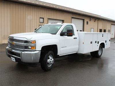 2019 Silverado 3500 Regular Cab DRW 4x4,  Knapheide Standard Service Body #19C30T - photo 4