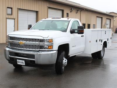 2019 Silverado 3500 Regular Cab DRW 4x4,  Cab Chassis #19C30T - photo 4
