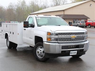 2019 Silverado 3500 Regular Cab DRW 4x4,  Cab Chassis #19C30T - photo 6
