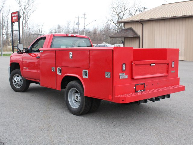 2019 Silverado 3500 Regular Cab DRW 4x4,  Reading Service Body #19C31T - photo 14