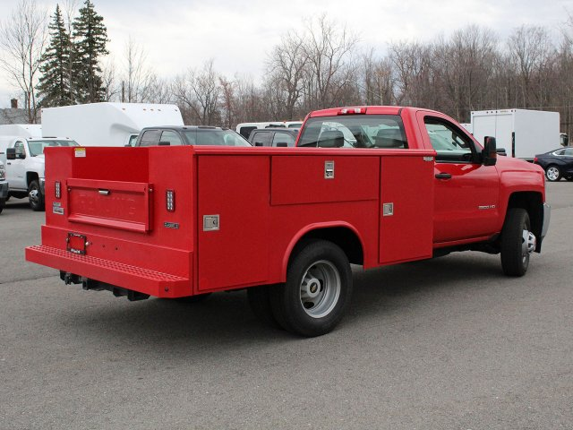 2019 Silverado 3500 Regular Cab DRW 4x4,  Reading Service Body #19C31T - photo 9