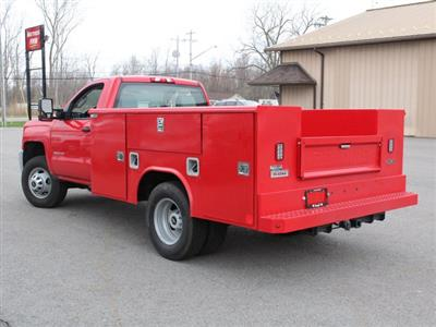 2019 Silverado 3500 Regular Cab DRW 4x4,  Reading Classic II Steel Service Body #19C31T - photo 14