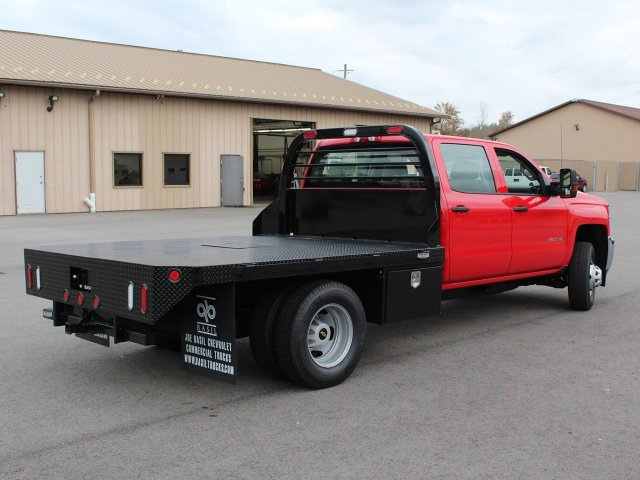 2019 Silverado 3500 Crew Cab DRW 4x4,  Commercial Truck & Van Equipment Platform Body #19C35T - photo 2